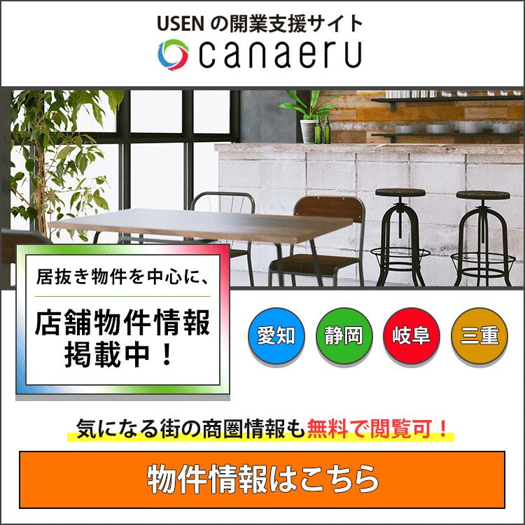 USENの開業支援サイト canaeru